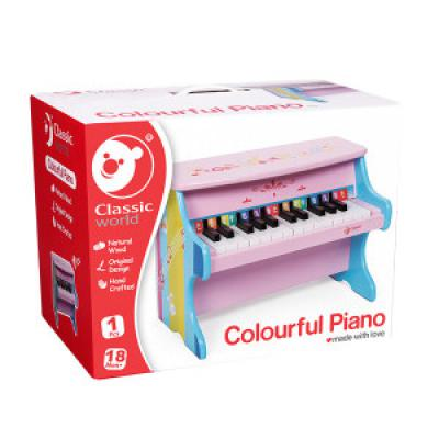 Exkluzívny klavír – dievčenský