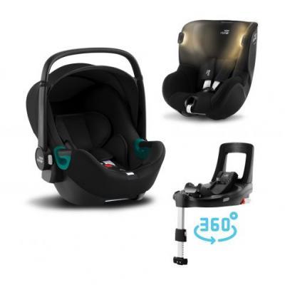 Britax Römer Set autosedačka Baby-Safe 3 i-Size+Báze Flex Base Isense+Autosedačka Dualfix iSense 2021