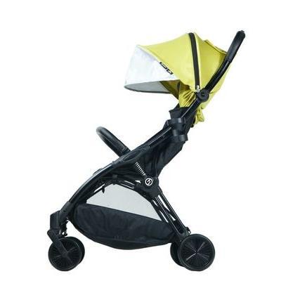 BABY STYLE hyBrid ľahký kočík Ezyfold, čierny rám + farebná strieška 2020