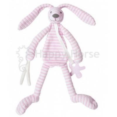 Králiček Happy Horse - Reece Tuttle Pruhovaný Ružový