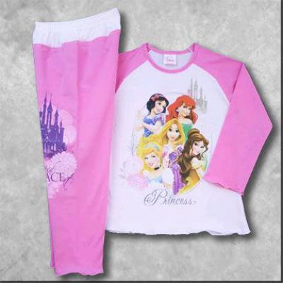 Pyžamo s dlhým rukávom (Princess)