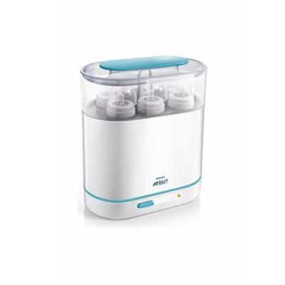 AVENT  Elektrický parný sterilizátor SET 3v1