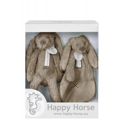 Darčekový set Happy Horse - Hnedý Králiček Richie