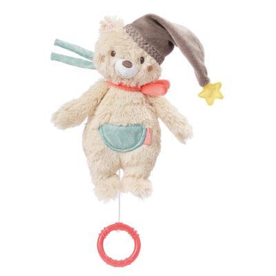 BABY FEHN Bruno Hracia hračka, mini medveď