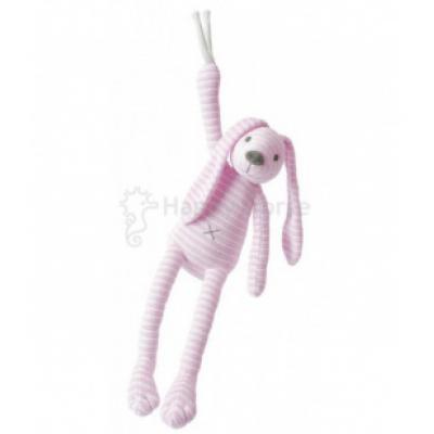 Ružový pruhovaný králiček Reece Happy Horse - Hudobný