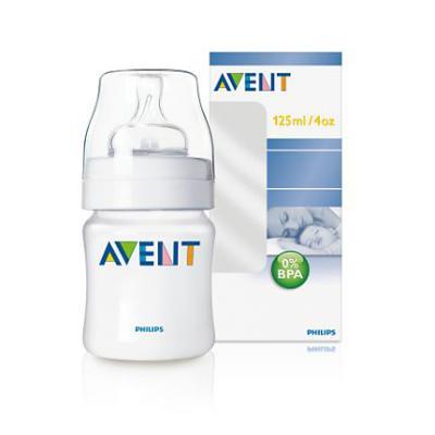 AVENT  PP Fľaša 125 ml 0%BPA