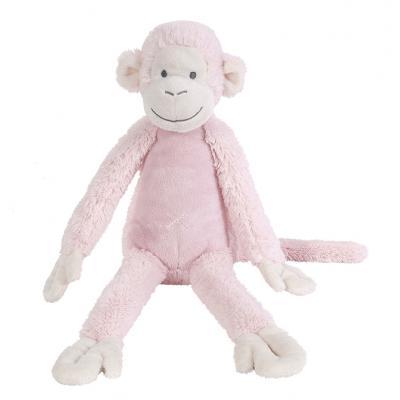 Ružová opička Mickey Happy Horse - 43cm