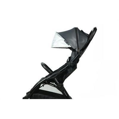 BABY STYLE hyBrid ľahký kočík Ezyfold, čierny rám bez striešky 2020