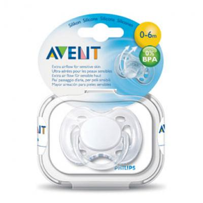 AVENT  Cumlík sensitive 0-6m 1 ks 0%BPA