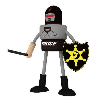 Policajt postavička