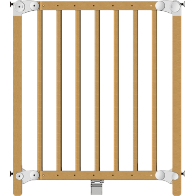 Clippasafe detská zábrana DUAL, drevo, 69,5-109,6 cm