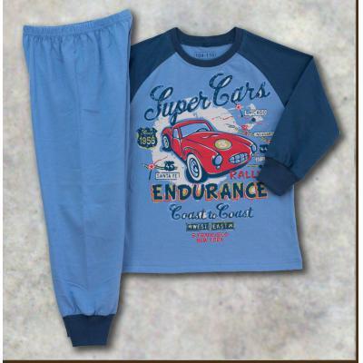 Pyžamo s dlhým rukávom (Auto)