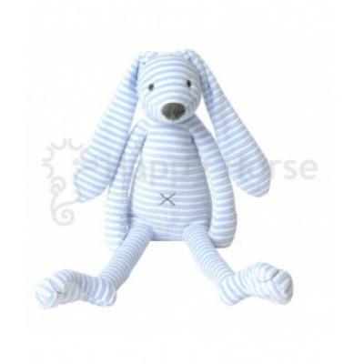 Modrý pruhovaný králiček Reece Happy Horse - 40cm