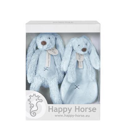 Happy Horse - darčekový set králik Richie modrý 2019