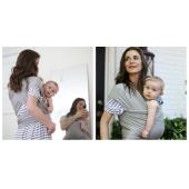 Šatka Boba Wrap Bamboo je ideálna na nosenie detí od narodenia do 18 mesiacov (15 kg). Svetlá francúzska šedá = neutrálna farba sa bude skvele kombinovať s tým, čo mamičky majú na sebe. - jemný mäkký materiál = bambusová zmes - šatku sa jednoducho obviaže okolo tela a zakaždým perfektne sadne - pri správnom používaní, nie je žiadna potrebná minimálna hmotnosť bábätka, pri ktorej je možné šatku používať - keďže obsahuje 5% spandex, nie je potrebné pri viazaní nechávať voľný priestor pre bábätko - šatka by mala priliehať na telo, ale neškrtiť - látka sa bábätku pekne prispôsobí - ako bude dieťa rásť, viazanie možno upravovať a prispôsobovať veľkosti dieťaťa - pri nosení majú mamičky voľné ruky, umožňuje kojenie, je silná a trvácna - na rozdiel od iných šatiek bábätko v šatke neklesá a neprehýba sa - šatku je možné nosiť celý deň- doma aj vonku - možnosť prať v práčke na nižších stupňoch  Materiál: 66,5 % bambus, 28,5 % jemný froté materiál, 5 % spandex Rozmery: dĺžka 4,5 m, šírka 48 cm Bambusové vlákno:       je prírodné vlákno získavané z bambusu rastúceho v tropických krajinách v prostredí bez pesticídov,     priedušné, jemné, mäkké na dotyk, má hodvábny lesk,     je antistatické a vďaka unikátnemu zloženiu bambusových vlákien dokáže odviesť až štyrikrát viac vlhkosti než bavlna,     vďaka štruktúreje v horúcom počasí o 2 - 3 stupne chladnejší než bavlna a naopak - v zime príjemne hreje,     je antibakteriálne, ale aj protiplesňové a antistatické.