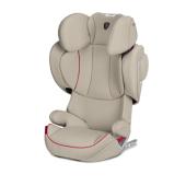 Limitovená edícia Scuderia Ferrari Vášeň pre dokonalosť. Zoznámte sa s novou kolekciou CYBEX FOR SCUDERIA FERRARI Premium-Collection.  SOLUTION Z-FIX Sk. II / III, 15 - 36 kg, od cca 3 až do 12 rokov  DETSKÁ AUTOSEDAČKA SOLUTION Z-FIX Výnimočná autosedačka, ktorá sa prispôsobí potrebám vášho dieťaťa  Medzi 3. a 12. rokom vaše dieťa poriadne povyrastie, preto je detská  autosedačka Solution Z-fix navrhnutá tak, aby rástla spoločne s dieťaťom  a prispôsobovala sa jeho meniacim sa potrebám.      Patentovaná naklápacie opierka hlavy     Automatické nastavenie výšky a šírky (12 pozícií)     Optimalizovaná Lineárne ochrana pri bočnom náraze (L.S.P. System Plus)     Systém ventilácie vzduchu     ISOFIX Connect System     CYBEX Safety Pads  Vďaka 12pozičnímu nastavenie výšky a automatickému nastavenie šírky  poskytujú protektory hlavy a ramien vždy dostatok priestoru.  Ovládateľnosť autosedačky jednou rukou umožňuje jej ľahké a rýchle  nastavenie. Patentovaná naklápacie opierka hlavy zabezpečuje, že hlava  dieťaťa zostane v bezpečnej zóne autosedačky. To je dôležité  predovšetkým pri náraze z boku, počas ktorého ponúka opierka hlavy a  L.S.P. System Plus zvýšenú bezpečnosť pre vaše dieťa. V kombinácii s  energiu-absorbujúce škrupinou sú sily nárazu znižované až o 25% a vďaka  CYBEX Safety Pads je hlava dieťaťa aktívne vedená do bezpečnej zóny  autosedačky. Solution Z-fix je vybavený systémom ISOFIX Connect s  jednoduchou inštaláciou a dodatočnú stabilitou a bezpečnosťou. Pre  zaistenie pohodlie dieťaťa aj počas horúcich letných dní je autosedačka  vybavená ventilačným systémom, ktorý znižuje teplotu v priestore pre  sedenie na príjemnú úroveň. Opierka chrbta detskej autosedačky sa  dokonale prispôsobí uhla zadných sedadiel vo vozidle, vďaka čomu je  Solution Z-fix perfektnou voľbou pre vaše dieťa.  Naklápacie OPIERKA HLAVY patentované Naklápacie opierka hlavy je patentovaná technológia, ktorá počas spánku  dieťaťa zabraňuje prepadnutiu jeho hlavy dopredu. Zaisťuje tak, že j