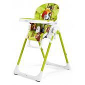 Naprie ktomu,že je stolička Prima Pappa Zero3 najmladšia, ponúka všetky funkcie a kvality, ako jejstaršie sestry Tatamia a Siesta. Ultraľahká a multifunkčná, rastie s Vaším dieťaťom od 0 do 3 rokov veku: počas prvých niekoľkých mesiacov môže byť stolička Zero3 používaná ako pohodlná, relaxačná naklápacia kolíska, od 6 mesiacov ako vysoká stolička na kŕmenie a hranie a neskôr, bez pultíku, k stolovaniu pri stole s dospelými. Vlastnosti:      vhodná pre deti od narodenia     nastaviteľná do 7 rôznych výškových polôh     opierka chrbta polohovateľná do 5rôznych pozícií     polohovateľná opierka nôh do 3 polôh     poťah z Eco-kože (Petrolino, Mela, Fragola, Arancia, Paloma, Licorice) alebo PVC     poťah možno čistiť vlhkou handričkou     dvojitý pultík s odnímateľným vrchným dielom vhodným do umývačky     zadné kolieska umožňujú pohodlnú manipuláciu     5-bodový bezpečnostný pás a medzinožná ochrana udrží Vaše dieťa v úplnom bezpečí     praktické tlačidlá na otváranie a zatváranie     v zloženom stave extrémne kompaktná, môže stáť samostatne     príslušenstvo k dokúpeniu: detská vložka, hrazdička na hranie  Technické parametre      Farba:2016     Vek:0 - 3r     Bezpečnostný popruh:5-bodový bezpečnostný popruh     Rozmery (D x Š x V):75,5 x 55 x 104,5 cm     Nosnosť:15 kg     Hmotnosť:7,6 kg