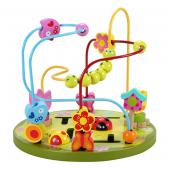 Zvierací tobogan je vhodný pre deti od veku 18 mesiacov. Vodidlá plné  zvieratiek, krásnych motýľov, kvietkov, húseníc, hrajúcich sa na tráve.  Zlepšuje detskú logiku, a zručnosť. Rozmery hračky (cm)                                                      Ø 27 x 25                                            Rozmery balenia (cm)                          27,5 x 27,5 x 25,5                                            Vek                          1 – 3 roky                                            Materiál                          čajovníkové drevo a MDF                                            Počet dielov                          1