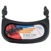 Praktický pult na kočík. Jednoduchá inštalácia a údržba.  - hlboký s držiakom na pohár - vhodný pre kočíky Valco Snap 3, Snap 4 a Snap Ultra - nevhodný pre Valco Snap Trend