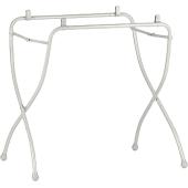 Popis:      Tento stojan môžete využiť na všetky vane talianske firmy Cam.     Kompaktný stojan Universale je ideálnym riešením do malého priestoru.     Veľmi ľahko sa skladá aj rozkladá a je možné nastaviť jehošírku.     Nohy stojana potom majú protišmykovú úpravu.  Rozmer balenia a špecifikácie:      Hmotnosť: 2,8kg