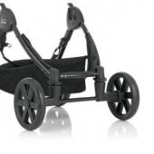 Náhradné terénne kolieska ku kočíku B-Motion. Jednoducho premeníte mestský kočík do terénu. Mäkčená penová kolesá sú vhodné na nerovný terén alebo na sneh.