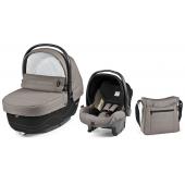 Set Modular XL je jedinečným systémom pre Vaše bábätko od narodenia do 3 rokov veku dieťaťa. Dokúpením samostatného podvozku Peg Perego sa stane Váš systém dokonalým a praktickým pomocníkom na Vašich cestách aj v domácnosti. Systém spĺňa požiadavky pre komfort novorodenca. Hlboká korba Navetta XL a autosedačka Primo Viaggio SL je v kombinácii s podvozkom Brevi ideálnym kočíkom pre mobilné mamičky.  Súčasťou setu je:      Navetta XL - vanička     Primo Viaggio SL - autosedačka     Borsa - taška na plienky   vlastnosti:      3 spôsoby upevnenia autosedačky do vozidla     Jednoduché pripevnenie na podvozky Peg Perego     Taška s prebaľovacou podložkou     Praktická strieška (na korbičke i autosedačke)     Nastaviteľný 3-bodové bezp. pás na autosedačke     Slučka pre zavesenie hračky   Rozmery:      Navetta XL: 45,5 x 67 x 87 cm (š x v x h)              Vnútorný rozmer: 28 x 21 x 66 cm (š x v x h)               Primo Viaggio SL: 43 x 65 x 60 cm (š x v x h)     Borsa: 36,4 x 34,7 x 13 cm (š x v x h)   váha:      Navetta XL: 5,3 kg     Primo Viaggio SL: 3,8 kg     Borsa: 0,6 kg