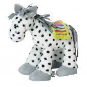 Koník Witty Happy Horse  Veľkosť:28 cm  Krásna plyšová hračka z mäkkučkého jemného materiálu určená aj pre najmenšie deti. Testované - neobsahuje toxické látky.  Popis:      materiál: 100% polyester     výplň: 100% polyester     perte v práčke pri teplote maximálne 30 ° C v šetrnom programe