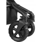 S terénnymi kolieskami na kočíkEasywalker Harvey2/Harvey3 už žiadny terén nebude problém.Či už v meste alebo vonku v prírode - kolesá sa optimálne prispôsobia podmienkam povrchu. Exkluzívne potešenie z jazdy pre vás a vaše dieťa.  Charakteristika: - veľké pneumatiky - extra profil - ideálne pre každé počasie  Vhodné pre Easywalker Harvey2/Harvey3.