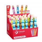 Detská drevená flauta, vhodná pre deti od veku 3 rokov. Plno zábavy pri  hre. Napomáha pochopiť tvorbu tónov, precvičuje detský talent a  schopnosť stať sa v budúcnosti muzikantom. Treba len vybrať tú správnu  farbu! Vek                                                      od 3 rokov                                            Materiál                          jemné opracované čajovníkové drevo                                            Počet dielov                          1                                            Rozmery hračky (cm)                          20 x 3 x 3                                            Rozmery balenia (cm)                          20 x 2,5 x 2,5