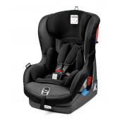 Univerzálna detská autosedačka pre deti od narodenia až do 4 rokov.  Detská autosedačka Switchable 0+ 1 vyniká predovšetkým jej dlhú použiteľnosťou a 2 spôsoby upevnenia vo vozidle pomocou 3-bodového bezpečnostného pásu .. Od narodenia do 13 kg sa používa v pozícii proti smeru jazdy, ktorá je považovaná za najbezpečnejší spôsob prepravy detí. Od 9 do 18 kg sa potom používa po smere jazdy, vďaka čomu má dieťa svet okolo seba ako na tanieri. Bezpečnosť autosedačky zaisťuje 5bodový bezpečnostný pás s mäkkými poduškami a nastaviteľný systém ochrany pri bočnom náraze. Pre novorodenca je v autosedačke vyberateľné vložka. Autosedačku možno polohovať do 5 rôznych pozícií a má odnímateľný poťah, ktorý možno prať v práčke.  vlastnosti:      Dlhá použiteľnosť (od narodenia do 4 rokov)     2 spôsoby upevnenia vo vozidle (po i proti smeru jazdy)     5bodový nastaviteľný bezpečnostný pás s mäkkými poduškami     Polohovateľná do 5 rôznych pozícií     Jednoduchá montáž     Odnímateľné poťahy  Rozmery: 45 x 61,5 x 58 cm (š x v x h) Váha: 10 kg