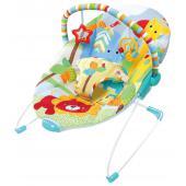 Lehátko Festival of Friends™ ponúka jemné vibrácie a hrazdičku s hračkami, ktoré zabavia dieťatko.  - sedacia časť poskytuje podporu a komfort pre dieťatko - príjemné vibrovanie napomáha k ukľudneniu dieťatka - odnímateľná hrazdička pre ľahký prístup k dieťatku - hrazdička obsahuje dve hračky pre zabavenie dieťatka - nastaviteľné 3-bodové bezpečnostné pásy - lehátko vyžaduje použitie 1 C (LR 14) batérie, ktoré nie sú súčasťou balenia - lehátko je vhodné pre deti od narodenia do 9 kg
