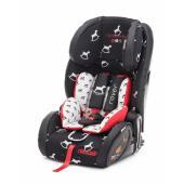 Skupina I, II, III Vhodné pre deti s hmotnosťou od 9 do 36 Kg ISOFIX príslušenstvo Anti rotačné zariadenie Jednoduché nastaveni výšky pásov Nastaviteľná opierka hlavy. Extra mäkkä pôlstrovanie Vysoko nastavitelný 5 bodový bezpečnostný pás Vynkajúca ochrana proti bočnému nárazui Pôlstrovanie je odnímatelné s možnosťou prania ECE R 44/04 scválené a certifikované