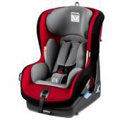 SWITCHABLE 0+ 1  Univerzální dětská autosedačka pro děti od narození až do 4 let.  Dětská autosedačka Switchable 0+ 1 vyniká především její dlouhou  použitelností a 2 způsoby upevnění ve vozidle pomocí 3bodového  bezpečnostního pásu.. Od narození do 13 kg se používá v pozici proti  směru jízdy, která je považována za nejbezpečnější způsob přepravy dětí. Od 9 do 18 kg se poté používá po směru jízdy, díky čemuž má dítě svět  kolem sebe jako na talíři. Bezpečnost autosedačky zajišťuje 5bodový  bezpečnostní pás s měkkými polstry a nastavitelný systém ochrany při  bočním nárazu. Pro novorozence je v autosedačce vyjímatelné vložka.  Autosedačku lze polohovat do 5 různých pozic a má odnímatelný potah,  který lze prát v pračce.  Vlastnosti: - dlouhá použitelnost (od narození do 4 let) - 2 způsoby upevnění ve vozidle (po i proti směru jízdy) - 5bodový nastavitelný bezpečnostní pás s měkkými polstry - polohovatelná do 5 různých pozic - snadná montáž - odnímatelné potahy  Rozměry: 45 x 61,5 x 58 cm (š x v x h)  Váha: 10 kg