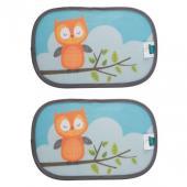 Ostré slnečné lúče dokážu jazdu pekne znepríjemniť. Zabrániť im dokáže slnečná clona do auta Zopa s ochranou UPF 30+. Spolu so clonou navyše deti získajú aj zábavného spoločníka na cesty v podobe zvieratiek, ktorá zdobí túto ochrannú pomôcku. V balení sú dva kusy.