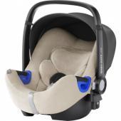 Letný poťah pre Baby-Safe i-Size je vyrobený z froté a medzi jeho prednosti patrí predovšetkým dobrá priedušnosť, čo prichádza vhod hlavne počas horúcich letných dní, kedy sa pri dlhej jazde v aute dieťatko ľahšie zapotí. Poťah možno ľahko sňať a vyprať.