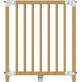 Rozšířitelná zábrana s dvojitým upevněním a zamykáním tlakem shora. Clippasafe Dětská zábrana Dual do otvorů o šířkách v rozmezí 69,5 až 109,6 cm s jednoduchou montáží pro zabezpečení průchodu dítěte do prostor, kde by mohlo přijít k úrazu. Zábrana je zkonstruována pro děti do 24 měsíců. Zábrana je dřevěná. Clippasafe Dětská zábrana Dual 69,5-109,6 cm: jednoduchá montáž, dřevěné provedení, pro otvor 69,5 - 109,6 cm, ovládání jednou rukou, splňuje EN 1930:2011