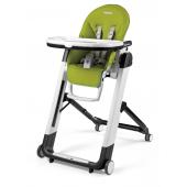Jedálenská stolička Siesta od firmy Peg Perego ponúka pohodlie pre kŕmenie, hranie i k odpočinku. Stolička je vhodná pre deti od narodenia do 15 kg. Počas prvých mesiacov je možné stoličku používať ako ležadlo a od 6 mesiacov môže slúžiť ako stolička. Poťah stoličky je z kvalitnej eko-kože tým je poťah ľahko udržiavateľný, stačí utrieť vlhkou handričkou. Ľahko sa rozkladá a skladá, po zložení sama stojí, zaberá málo miesta. Vlastnosti:      stolička Siesta je multifunkčná, vysokostabilná stolička     ako pohodlné ležadlo od narodenia do 9kg     ako detská stolička na hranie, jedenie a oddych od 6 mesiacov do 15 kg     opierka chrbta je nastaviteľná do 5-tich polôh     má 9 rôznych výškových polôh     nožná opierka nastaviteľná do 3 polôh     dvojitý odnímateľný pultík na hranie aj na jedenie     pultík je vyberateľný a umývateľný aj v umývačke riadu     5-bodové bezpečnostné pásy     anatomická zábrana proti zošmyknutiu     praktická pogumovaná sieťka na zadnom sedadle     4 kolieska, ktorými sa môžete pohybovať kdekoľvek     je to dokonalý transportný systém s bezpečnostnou brzdou     poťah stoličky je z kvalitnej eko-kože     poťah je ľahko umývateľný a udržiavateľný     v zloženom stave samostatne stojaca     úžasne skladná do kompaktného celku, nezaberá veľa miesta  Rozmery:      v rozloženom stave: 75 x 60 x 104,5 cm     v zloženom stave: 30 x 86 cm     hmotnosť: 10,5 kg