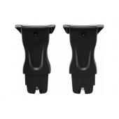 Rýchle, pohodlné, kompatibilné Pomocou našich adaptérov CLICK & GO ® pre Mutsy Evo môžete ľahko a  bezpečne pripútať vašej detskú autosedačku BABY-SAFE i-SIZE ku kočíku  Mutsy Evo, ktorý poskytuje flexibilný cestovný systém.