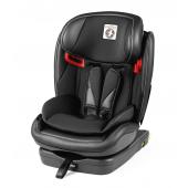 VIAGGIO 1-2-3 VIA 9 - 36 kg (cca 1 - 12 let)  Bezpečnost, variabilita, spolehlivost  Dětská  autosedačka Viaggio 1-2-3 Via byla speciálně navržena pro vozidla s  připojeními ISOFIX a Top Tether. Díky svému dvojitému schválení ji lze  používat od 9 až do 36 kg dítěte (cca 1 rok - 12 let). Během této doby  poskytuje autosedačka vysokou úroveň pohodlí a chrání všechny citlivé  části těla dítěte.  Skupina 1-2-3 - dvojité schválení Ve skupině 1 (9-18 kg; univerzální kategorie třídy B1) se autosedačka  do vozidla instaluje pomocí připojení ISOFIX a Top Tether a dítě je  zajištěno 5bodovým pásem dětské autosedačky. Ve skupině 2-3 (15-36 kg;  semi-univerzální kategorie) se autosedačka ve vozidle připevní pomocí  ISOFIXu (volitelně Top Tether) a k připoutání dítěte se používá 3bodový  bezpečnostní pás vozidla.  EPS Velká opěrka hlavy a rozsáhlé bočnice s EPS poskytují maximální ochranu hlavy a ramen při bočním nárazu i větším dětem.  Nastavitelná ochrana při bočním nárazu (ASIP) Tento systém ochrany snižuje síly, které působí na hlavu a krk dítěte  při nárazu z boku. Díky společnému nastavení bezpečnostních pásů s  opěrkou hlavy je neustále zajištěna stejná úroveň bezpečí pro vaše  rostoucí dítě.  4D Total Adjust technologie Autosedačku lze nezávisle nastavit ve 4 směrech: 1) Výšku opěrky hlavy lze, vzhledem k opěrce zad, nastavit do 6 pozic. 2) Opěrku zad a opěrku hlavy lze společně výškově nastavit do 5 pozic. 3) Rozestup bočních protektorů můžete upravit až o 6 cm. 4) Anatomický sedák lze pouze jednou rukou uvést do jedné z 5 pozic. ISOFIX základna a připojení Top Tether Snadné a  bezpečné připojení autosedačky ve vozidle. Díky integrované ISOFIX  základně lze autosedačku snadno připevnit do vozidla pomocí kotevních  bodů ISOFIX a Top Tether. Tato kombinace poskytuje maximální bezpečí a  stabilitu i při prudkém zatáčení.  Ocelová výztuž Autosedačka je vyztužena ocelovým rámem, který poskytuje zvýšenou ochranu i při nárazu zezadu.  Barevné ukazatele a Blind lock ochrana př