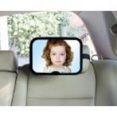 """Spätné zrkadlo Zopa s elegantným a moderným vzhľadom je skvelý  pomocník na cesty s dieťaťom. Vďaka zrkadlu môže rodič dieťa kontrolovať  kedykoľvek počas jazdy, ak sa sedačka nachádza v protismere jazdy.  Vypuknutie dizajn zrkadlá umožňuje 360 ° pohľad na dieťa. Pomocou  nastaviteľných pásov sa zrkadlo jednoducho nasadzuje na opierku hlavy  sedadla. Možné je ukotvenie do tvaru písmena """"X"""" alebo do tvaru """"kríža"""".      Čistenie je možné suchou alebo mierne vlhkou handričkou.     Materiál-98% ABS 2% Polypropylén     Rozmery: Výška - 17,5 cm     Dĺžka - 24, 5 cm     Šírka - 7 cm     Plocha zrkadla: 21,5 cm x 15 cm"""